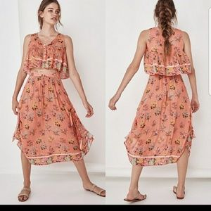 Spell and the Gypsy Posy Crop Top n Tie Skirt set